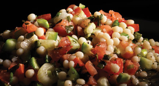 Tomato Basil Couscous Salad