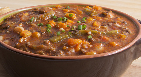 Cactus Chili with Beans