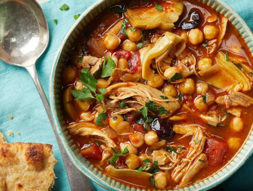 Peninsular Chicken & Chickpea Soup