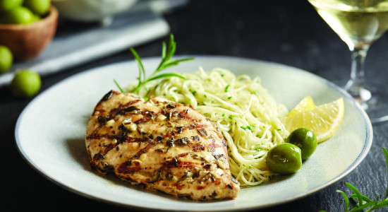 Grilled Italian Herb Chicken Breast