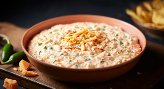 Jalapeno Cheese Spread - Made with imitation cheddar cheese