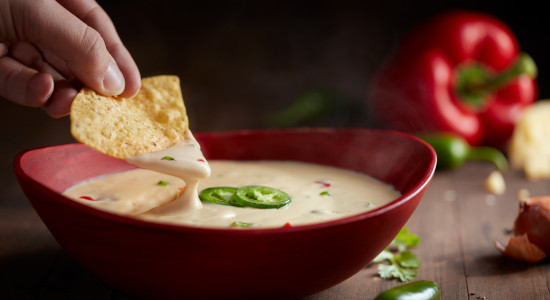 Queso Cheese Dip with Jalapenos
