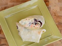 Asian Chicken Salad Wrap